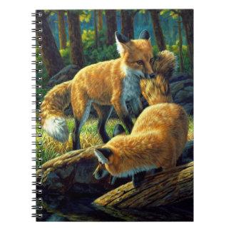 El jugar de los perritos del Fox Cuaderno