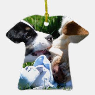 El jugar de los perros adornos