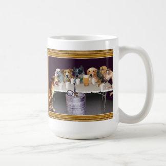El jugar de los perros taza de café