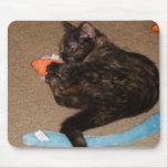 el jugar del gatito alfombrilla de ratón