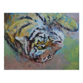 El jugar del tigre postal