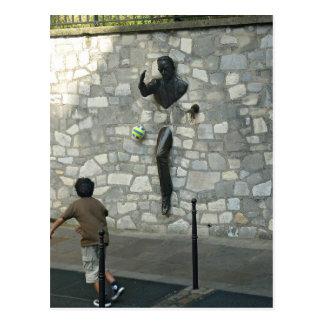 El jugar en Montmartre Tarjetas Postales