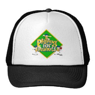 El jugar para el gorra del camionero de los cacahu