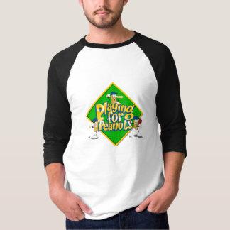 El jugar para los cacahuetes - 3/4 camisa con