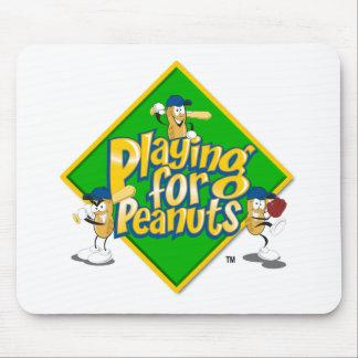 El jugar para los cacahuetes - Mousepad Alfombrillas De Raton