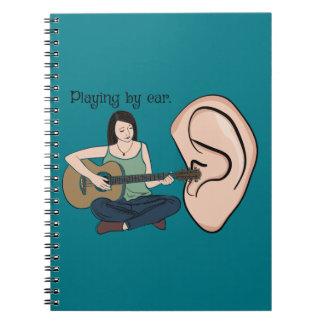 El jugar por el oído libretas espirales