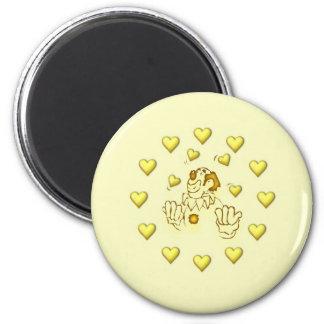 el juglar en amor imán redondo 5 cm