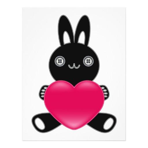 El juguete relleno del conejo tarjetas publicitarias