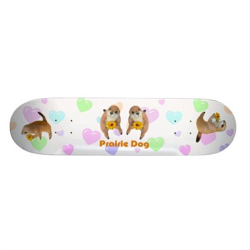 el juguete relleno del perro de las praderas patín personalizado