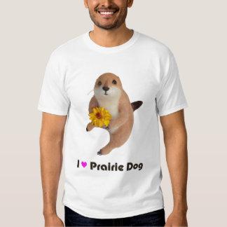el juguete relleno del perro de las praderas remeras