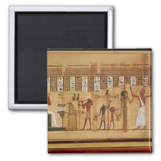 El juicio de Osiris, detalle Imán Cuadrado