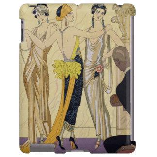 El juicio de París, 1920-30 (impresión del pochoir