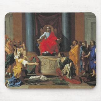 El juicio de Solomon, 1649 Tapetes De Ratones