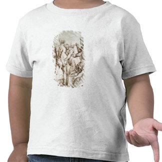 El juicio de Solomon (pluma y tinta) Camisetas