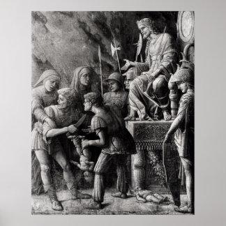 El juicio de Solomon Póster