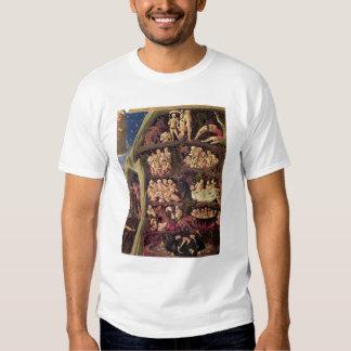 El juicio pasado, detalle del infierno, c.1431 camisas