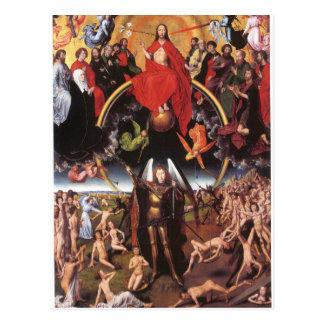 El juicio pasado. Hans Memling; c. 1467-1471 Postal