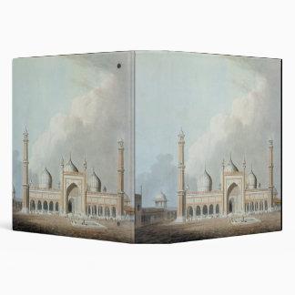 "El Jummah Musjed, Delhi, placa XXIII de 'Oriente Carpeta 1 1/2"""
