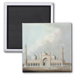 El Jummah Musjed, Delhi, placa XXIII de 'Oriente Imán Cuadrado