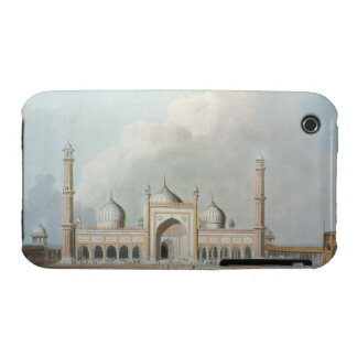 El Jummah Musjed, Delhi, placa XXIII de 'Oriente iPhone 3 Case-Mate Carcasas