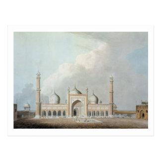 El Jummah Musjed, Delhi, placa XXIII de 'Oriente Postales