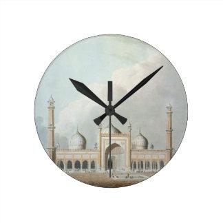 El Jummah Musjed, Delhi, placa XXIII de 'Oriente Reloj Redondo Mediano