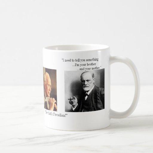 El Jung y el agitado - modificado para requisitos  Tazas De Café