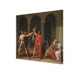 El juramento de Horatii, 1784 Lienzo Envuelto Para Galerias