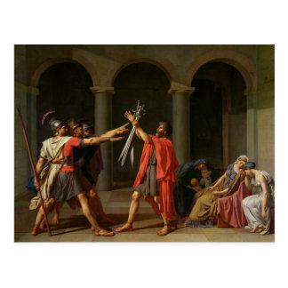 El juramento de Horatii, 1784 Postales