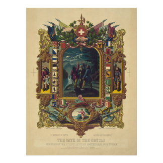 El juramento del gruẗli, Philadephia, PA. [1860] Póster