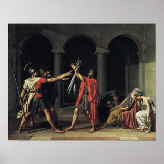 El juramento del Horatii Posters