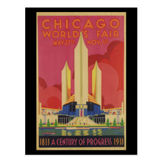 El Justo-Siglo del mundo de Postal-Chicago de prog Tarjetas Postales