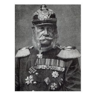 """El Kaiser Wilhelm, a partir de la """"hora del ocio"""", Postal"""