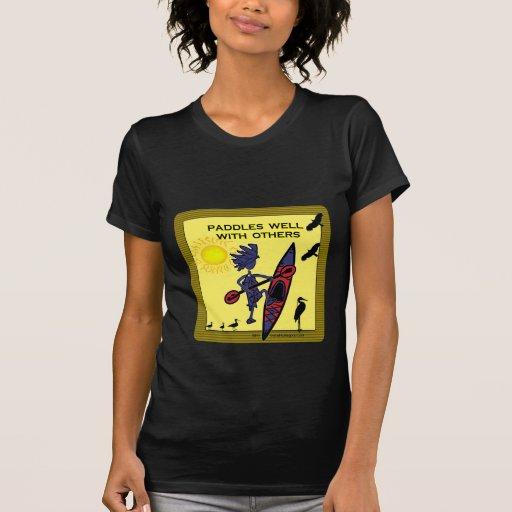 El kajak bate bien con otros II Camisetas