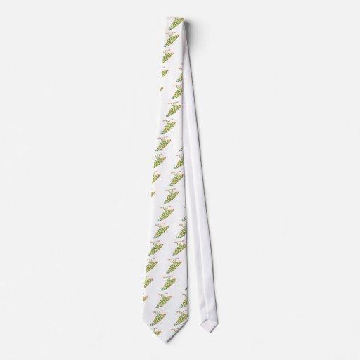 El kajak escarpado empapa corbata personalizada