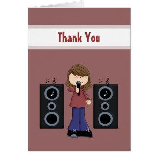 El Karaoke le agradece las tarjetas