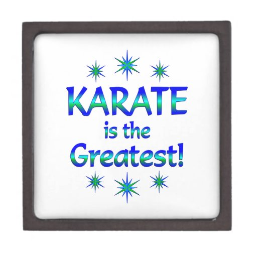 El karate es el más grande cajas de regalo de calidad