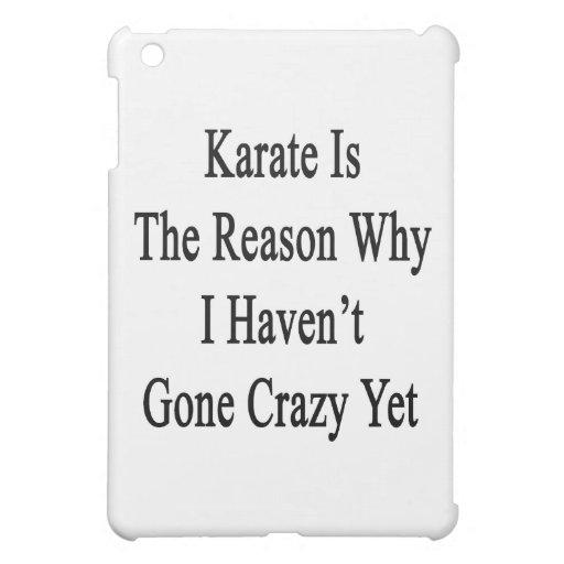 El karate es la razón por la que no he ido loco to