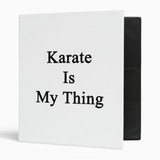 El karate es mi cosa