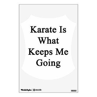 El karate es qué me guarda el ir