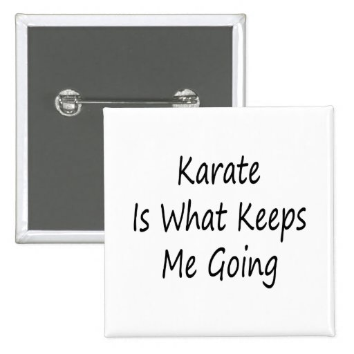 El karate es qué me guarda el ir pins