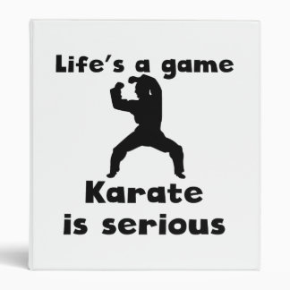 El karate es serio