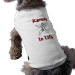 El karate es vida ropa de mascota
