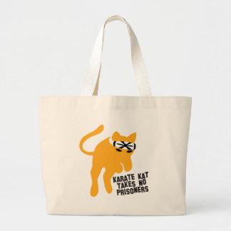 El karate KAT (gato) no toma a ningún preso Bolsa De Mano