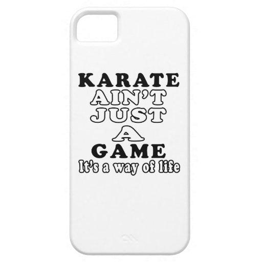 El karate no es apenas un juego que es una manera  iPhone 5 cárcasa