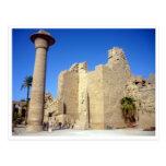 el karnak empareda Egipto Postales