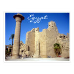 el karnak empareda Egipto Tarjetas Postales