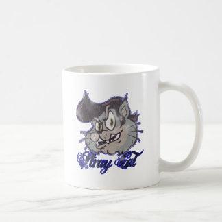 El Kat fresco del gato perdido Taza De Café