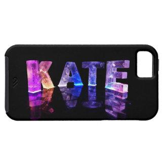 El Kate conocido en 3D se enciende (la fotografía) iPhone 5 Carcasas