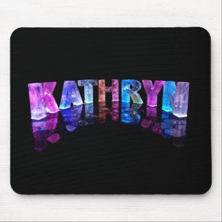El Kathryn conocido en 3D se enciende (la fotograf Tapetes De Ratones
